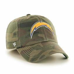 NWT 47 BRAND LOS ANGELES CHARGERS FRANCHISE NFL CAMO HAT CAP