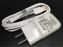 OEM LG 1.8 Charger MCS-04WD with 2.0 5FT Micro USB for LG G2