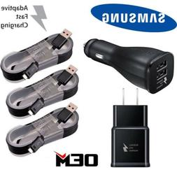 OEM Fast Charging Wall Charger + Micro USB Cable For Samsung