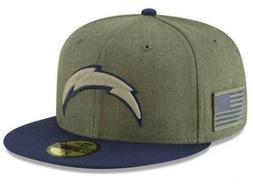 Official 2018 Los Angeles Chargers New Era NFL Salute Servic