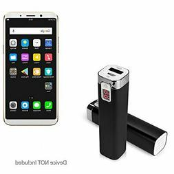 BoxWave Oppo F5 Charger,  2600 mAh Compact Portable Power