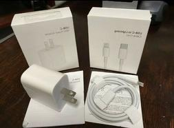for iPhone 11 11Pro Max XS iPad 18W USB-C to Lightning Cable