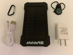 patriot power cell usb solar charger brand
