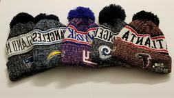 patriots new york chargers rams falcons beanie