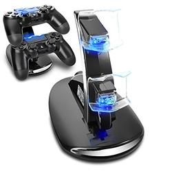 Playstation 4 Charging Dock, Amanka Dual USB Charging Charge