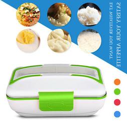 Portable Electric Lunch Box Stainless Steel Food Heater Warm