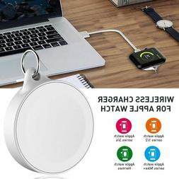 Portable Magnetic Wireless USB Charging Keychain For Apple W