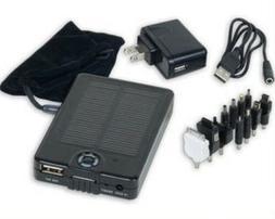 Portable Solar Panel Charger Kit for Iphone Ipod Gps Pda Mp3