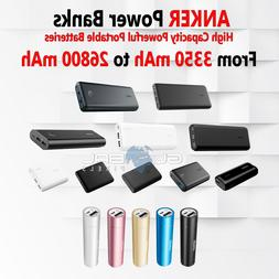 Anker Power Bank Portable Battery Cell Phone Charger USB lot