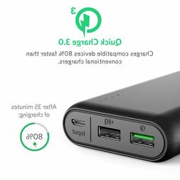 PowerCore 20000 with Qualcomm Quick Charge 3.0 cell or table