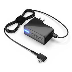 Pwr+ Extra Long 6.5 Ft AC Adapter 2.1A Fast-Charger for Sam