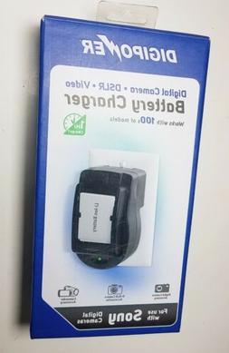 DigiPower QC-500S Battery Charger for SONY Digital Cameras V