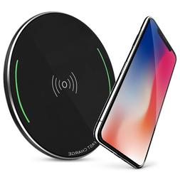 Qi-Certified 15W Wireless Charging Compatible with Apple iPh