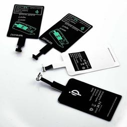 QI Wireless Adapter Fast Charger Receiver For Samsung Androi