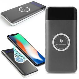 CoverON Qi Wireless Charger Power Bank Portable Charger w/ L