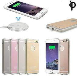 QI Wireless Charging Receiver Charger Gel Back Case For Appl