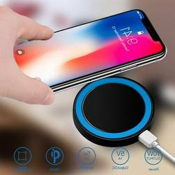 Qi Wireless Fast Quick Charger Pad Dock Phone For iPhone 7 7