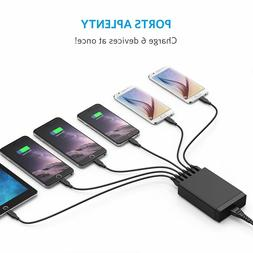 Rapid Fast Multiple Multi Port USB Wall Charger Hub Station
