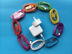 SALE! Wall power charger and iphone6/plus/5 Cable cord power