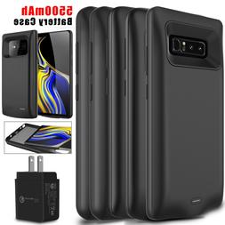 For Samsung Galaxy Note 9/8/S8+/S9+ Battery Case External Ch