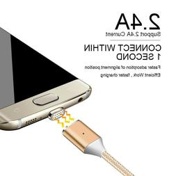 For Samsung Galaxy S8 Plus Magnetic Type-C USB Fast Charging