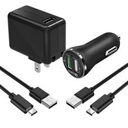 Fast Charger,Seenda Adaptive Fast Charger Kit Compatible for