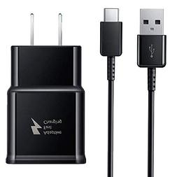 Samsung Note 9 Adaptive Fast Wall Charger 4 Ft Type-C to USB