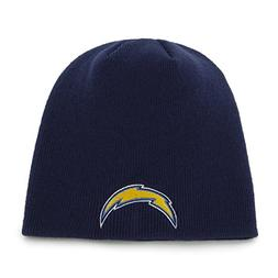 San Diego Chargers Navy Blue Skull Cap - NFL Cuffless Winter