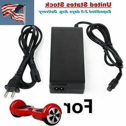 Scooter Charger 3 PINS  Hoverboard Power Adapter 42V2A 2 Whe