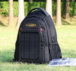 Solar cell phone charging Backpack