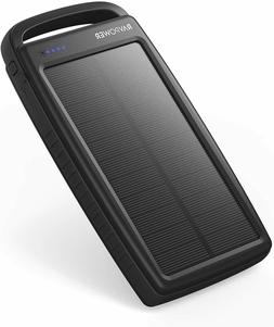 Solar Charger RAVPower 20000mAh Portable Charger Solar Power