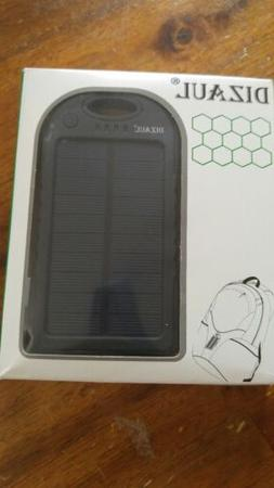 Solar Charger For Camping Portable Travel backpacking Waterp