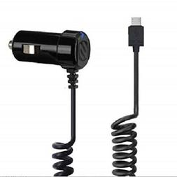 SCOSCHE STRIKEDRIVE 12W MICRO-USB FAST CAR CHARGER FOR ANDRO
