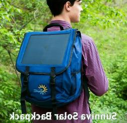 SUNNIVA SOLAR BACKPACK WITH POWER BANK