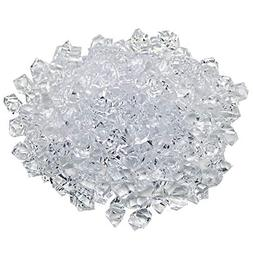 Generic Translucent Clear Acrylic Ice Rocks for Vase Fillers