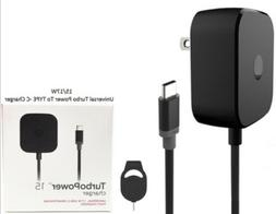 TurboPower 15W Motorola Adaptive Fast Home Charger For Moto