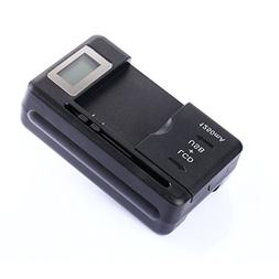 RIJER Universal LCD Battery Charger, Travel chargering for S