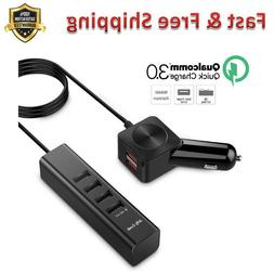 Universal Car Charger Multiple USB Phone Charger 6 Port USB