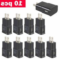 US Lot 5-50 Plug USB Power Adapter AC Home Wall Charger For