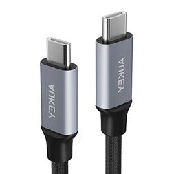AUKEY USB C to USB C Cable 3ft, USB 2.0 Type C Cable Fast Ch