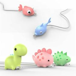 USB Cable Protector Wire Animal Bite Charger Saver For iPhon