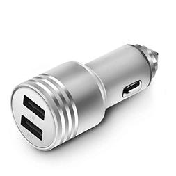 Airror USB Car Charger, 3.4A Rapid Dual Smart USB Car Charge