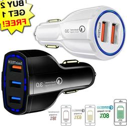 USB Fast Quick CAR Charger Adapter  for Android Samsung LG i