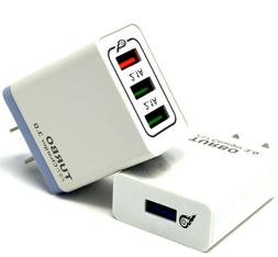USB Fast Quick wall Charger Adapter  for Android or iPhone