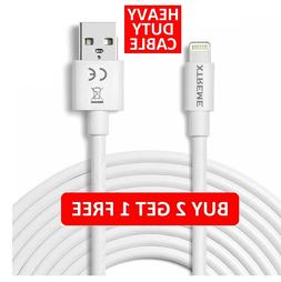 USB Lightning Charger & Data Sync Cable Lead For Apple iPhon