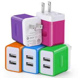 USB Wall Charger, Power Adapter Plug, Eversame 5V/3.1A USB T