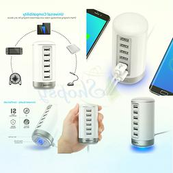 USB Wall Charger, Seenda USB Phone Charger : 6-Port Multi US