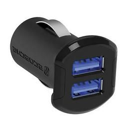SCOSCHE ReVolt Compact Dual Port USB Fast Car Charger with I