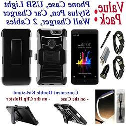 """Value Pack Cables Chargers + for 6"""" ZTE Blade Z MAX bladeZma"""