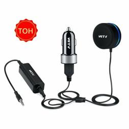 VTIN Bluetooth Car Receiver 3.5mm Stereo With Aux Mic And Du